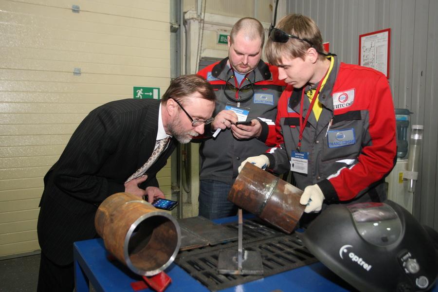 Конкурс профессионального мастерства электросварщиков